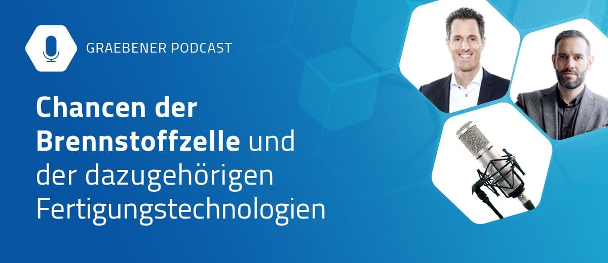 Podcast: Chancen der Brennstoffzelle, Interview zwischen Marco Petracca und Fabian Kapp