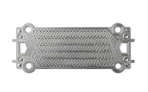 Metallic bipolar plate for high-temperature fuel cell
