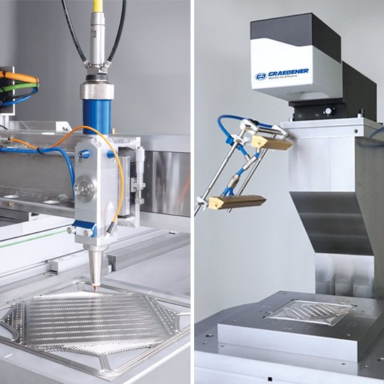 Graebener cutting system and Graebener welding systems for the manufacturing of metallic bipolar plates