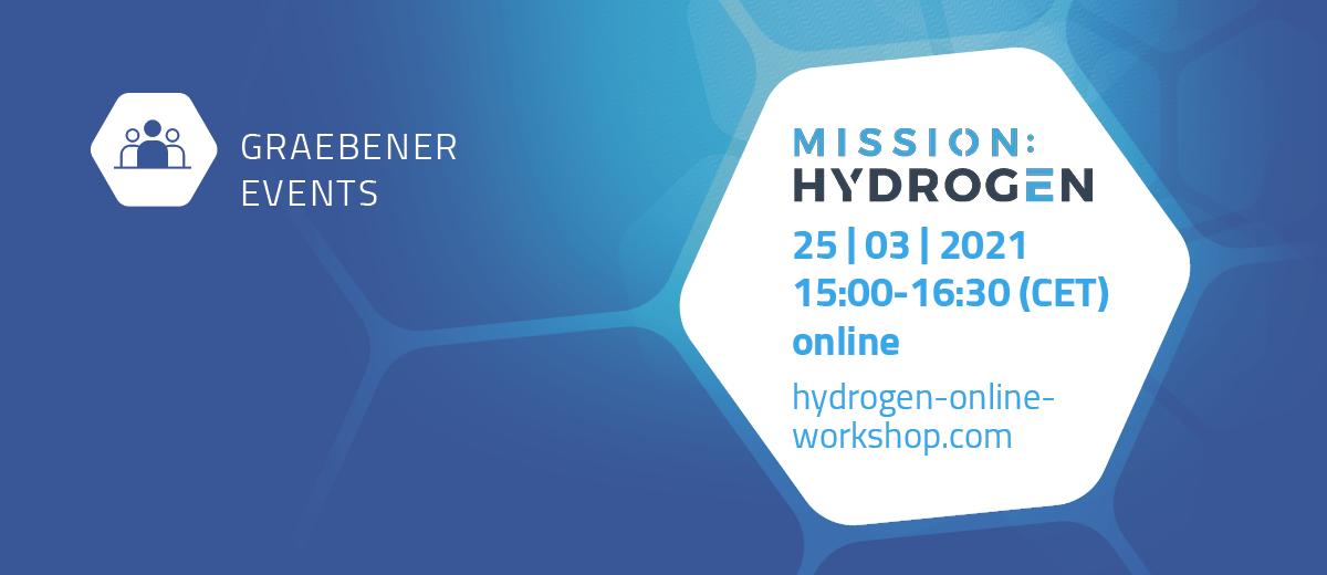 Graebener® auf dem Hydrogen Online Workshop
